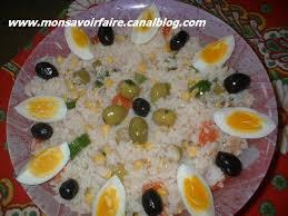 la cuisine alg駻ienne salade de riz 1 photo de la cuisine algérienne mon savoir faire