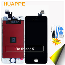 HUAPPE 1PCS AAA Excellent Quality Display LCD Screen For Apple