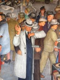 Coit Tower Murals Images by For The Depression Era Murals Of Coit Tower Great Recession Era