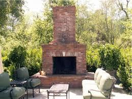 Attractive Build Outdoor Brick Fireplace 7 Simple Outdoor