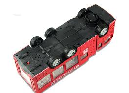 100 Fire Truck Sirens WolVol Electric Toy With Stunning 3D Lights And