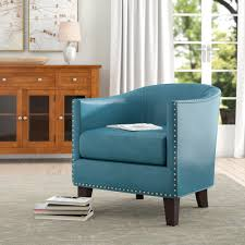 Charlton Home Sangster Barrel Chair & Reviews   Wayfair