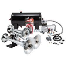 100 Air Horn Kits For Trucks Chrome Triple Truck Kit Kleinn Automotive Accessories HK6