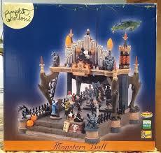 Lemax Halloween Village 2012 by Lemax Pumpkin Hollow Halloween Village Collection Monsters Ball