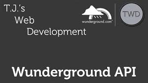 100 Wundergorun Weather Underground Wunderground API Part 1 YouTube