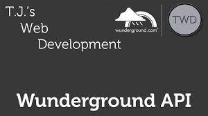 100 Wundergrond Weather Underground Wunderground API Part 1