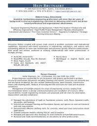 Structural Engineer Resume Examples Sample Data Management Example Scale Civil