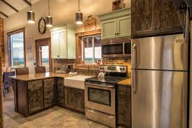 The Rustic Kitchen Cabinets And Idea For Making Different Composition