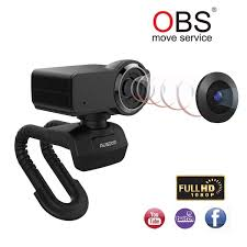 AUSDOM Full HD Webcam 1080P Obs Live Streaming Camera USB Webcam For Xbox Skype Twitch Youtube Facebook Compatible For Mac Os Windows 1087