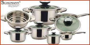 schumann cuisine batterie de cuisine induction inox inspirational batterie de cuisine