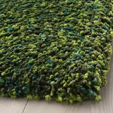 vindum teppich langflor grün 200x270 cm