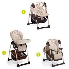 chaise b b volutive hauck chaise haute évolutive 2 en 1 sit n relax zoo beige marron