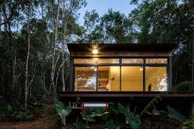 100 Minimalist Cabins Tiny House Cabin Brazil Photos Apartment Therapy