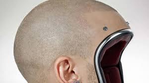Heboh Helm Kocak Berbentuk Kepala Botak VIVA