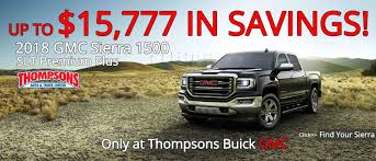 100 Gmc Trucks Dealers Thompsons Buick GMC FamilyOwned Sacramento Buick GMC Dealer