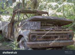 100 Funny Truck Pics Rusty Message Stock Photo Edit Now 295439420