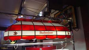100 Kd Pool Budweiser Table Lights Inspirational Budweiser 40 Inch Stained