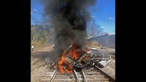 100 Dump Truck Drivers FHP 1 Dead In Amtrak Train Dump Truck Collision In Pine Castle