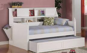 Full Size Bed With Trundle by Bedroom Attractive Full Size Bookcase Daybed With Underbed