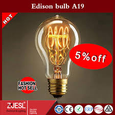 sale a19 60w incandescent vintage light edison bulb e27 retro