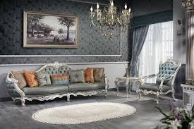 casa padrino luxus barock wohnzimmer set 1 chesterfield sofa 1 chesterfield thron sessel 1 beistelltisch barock wohnzimmermöbel