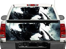 100 Rear Truck Window Decals Death Darksiders OR Tailgate Decal Sticker Pickup
