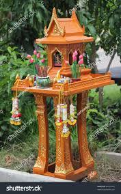 100 Thai Modern House Outdoor Spirit Shrine Stock Photo Edit