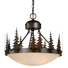 Rustic Light Fixtures Cabin Lighting