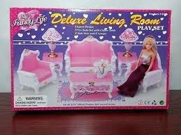 Barbie Living Room Set India by Barbie Living Room Cleanup Games Furniture In Style New Doll