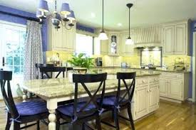 Blue French Country Bedroom Kitchen And Yellow Decor
