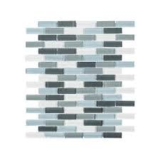 smart tiles murano approximately 3 in w x 3 in h taupe and