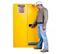 justrite fm approved flammable liquids cabinet 1092mm w 8990001