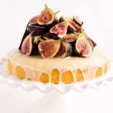 Simple Lemon Cake W Fresh Figs