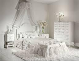 Bedroom Elegant Decor White Interior Design