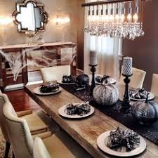 SamiRicciolis Dining Room Is Ready For Halloween Celebrations Features Our Timber Table