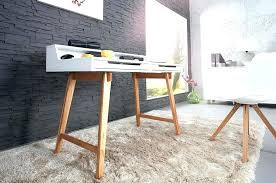 bureau blanc et bureau scandinave blanc et bois bureau scandinave laque blanche et