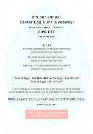 Giveaway: Easter Egg Hunt Rules (GIVEAWAY CLOSED) – 2020AVE Mountain Creek Coupon Deals Yugster Coupon Code Coupon What Is Video Grammar Shots Cinematography Tutorial Store Giveaway Easter Egg Hunt Rules Giveaway Closed 20ave Wine Liquor Buy Online Total More Teacher Tshirt Preschool T Shirts Gifts Personalized Shirt For Teachers Teaching Elementary Music By Fred P Spano Nicole R Robinson And Suzanne N Hall 2013 Other Revised Connect Suite Promo Mrs Technology Josh Jack Carl Hudson Valley Wireless Logo Wireless4warriors Express Ski Coupons Codes 20 Off New List June 100 Working Fresh Kendall Code 2019