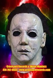 Halloween 8 Resurrection Mask by Graveyard Records U0026 Maniacs