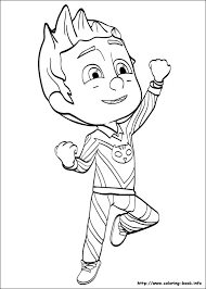 Pj Masks Coloring Pages Index Romeo Eoi