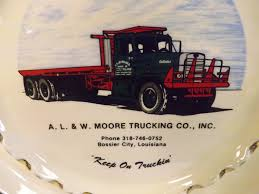100 R And L Trucking A W Moore Co Ashtray Bossier City Etsy