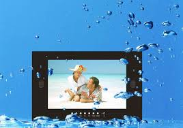 wasserdichte lcd tv geräte für bad sauna wellness und