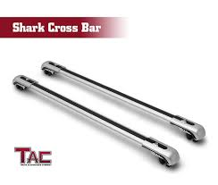 100 Truck Pipe Rack Amazoncom TAC Universal Shark Aluminum Roof Top Rail Cross