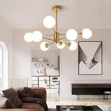 modern kronleuchter magic bean wohnzimmer pendelleuchte glas