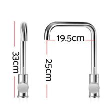 Diy Kitchen Faucet Cefito Mixer Kitchen Faucet Tap Swivel Spout Wels Silver