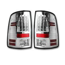 100 Dodge Truck Accessories Clear Lens After Market LED Tail Lights Ram 1317 RECON