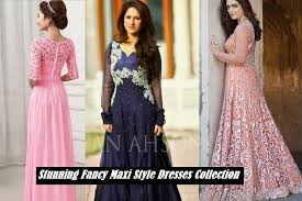 Maxi Dresses Collection 2017 2018 In Pakistan