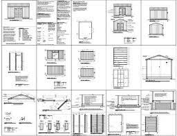 12x12 Shed Plans Pdf by 119 Best Plans For Shed Images On Pinterest Garden Sheds