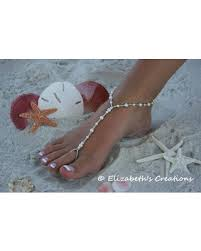 Barefoot Sandal Simply Elegant Wedding Shoes Bridal Beach Sandals