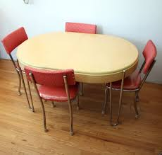 Retro Kitchen Table And Chairs Edmonton by Beautiful Red Retro Kitchen Table And Chairs Khetkrong