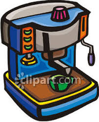 An Espresso Machine Making Coffee
